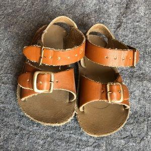 Salt Water Sun San Sea Wee sandals, size 3